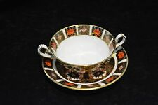 Royal Crown Derby Old Imari Cream-soup and stand plate...Below cost NEW!!!