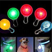 Fascinating Pet Dog Cat Puppy LED Flashing Collar Safety Night Light Pendant
