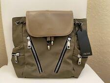 NVT Women Prüne Prune  3 way bag hand bag back pack nylon Beige