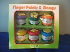 Finger Paint & stamps Art 101  fun with color  1x849