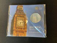 More details for big ben £100 silver commemorative coin