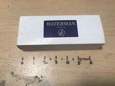 Waterman Exception Edson Carene Gentlement LeMan 100 Le Man 200 fountain pen box