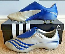 Adidas F50.7 Tunit FG * Version Pro * argent métallisé/true blue/blanc