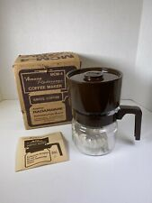 NEW Vintage AMANA RADARANGE MICROWAVE OVEN COFFEE MAKER MCM-4 W/box