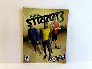 Fifa Street 3 PS3 MANUAL ONLY Authentic Original