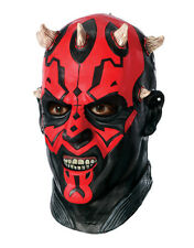 Darth maul deluxe latex masque, homme star wars accessoires costume