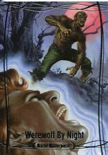Marvel Masterpieces 2016 Base Card #4 Werewolf By Night #/ 1999