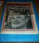Ici Paris numéro spécial l'adieu à la princesse GRACE Sept 1982
