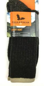 "Field & Stream Every Hunt Men's Ultimate Durability Medium Weight 9"" Crew Socks"