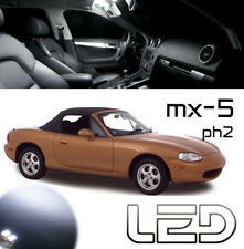 Mazda MX-5 MX5 MX5  2 Ampoules LED Blanc éclairage Habitacle Plafonnier Coffre
