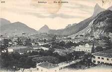 Rio de Janeiro  Brazil Botafogo Birds Eye View Antique Postcard J63044
