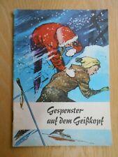Gespenster auf dem Geißkopf Kinderbuch DDR Erste Hilfe Hygienemuseum Dresden