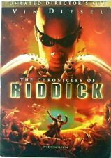 Chronicles of Riddick (Dvd, 2004, Unrated Directors Cut Widescreen) w/ Slipcover