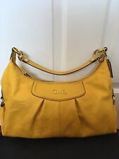 d267fc36d6db Coach Ashley Sunflower Yellow Satchel Bag NWOT