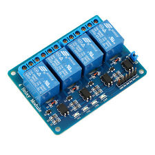5V 4 Channel Relay Board Module for Arduino for Raspberry Pi ARM AVR DSP PIC pI