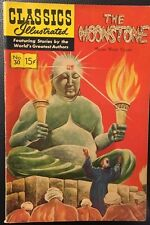 CLASSICS ILLUSTRATED #30 The Moonstone  William  Wilkie Collins (HRN 165) FINE-