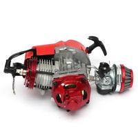 Performance Racing Red 49cc 2 Stroke Engine Motor Mini Pocket Quad Dirt Bike