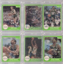 1986 STAR COMPANY BASKETBALL  LIFEBUOY BUCKS AUTOGRAPHED TEAM SET