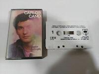 CARLOS Cano Quedate Mit Die Copla Tape Kassette CBS 1987 Spain Ed