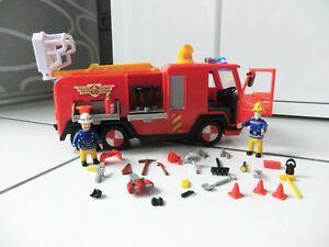 # XXL-Sammlung 💚 Feuerwehrmann Sam 💚 JUPITER Licht und Sound 💚 viel Zubehör