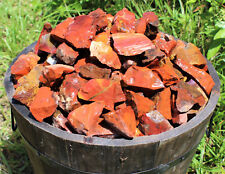 500 Carat Lot Bulk Natural Rough Red Jasper (Raw Rock Mineral Brazil 100 Grams)
