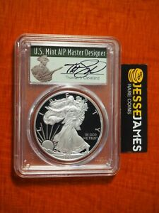 2021 W PROOF SILVER EAGLE PCGS PR70 DCAM THOMAS CLEVELAND FIRST DAY OF ISSUE FDI