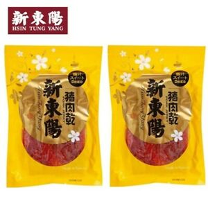 *新東陽蜜汁豬肉乾 Hsin Tung Yang Pork Jerky Honey Sweet Flavor Snacks 120g x 2