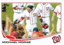 2013 Topps #138 Michael Morse Washington Nationals