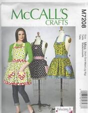 Mccall's patrón de costura misses » aprons with Petticoat Tamaños Xsm-Xig M7208