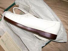 SAS Ladies Shoes Simplify White Leather Tri Pad Comfort Sz 12 Med NWB USA MADE.