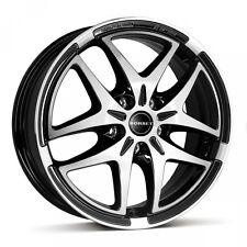 Satz 17 Zoll Alufelgen BORBET XB Black Polished VW Golf 5 Golf 6 Audi Skoda Seat