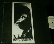 MASTER SLAVE RELATIONSHIP This Lubricious Love LP ELECTRONICA INDUSTRIAL