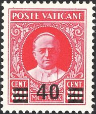 VATICAN, 1933. Pius XI Surcharged 35, Mint