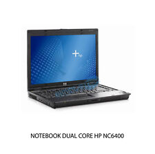 NC6400 NOTEBOOK COMPUTER PORTATILE DUAL CORE WIRELESS RETE MASTERIZZATORE DVD