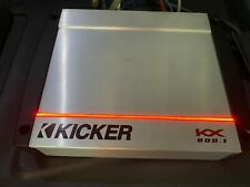 Kicker 40KX 800.1 Mono 800 Watt RMS Amplifier