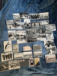 Groses Set Olympiade Berlin 1936, Postkarten, Abzeichen, Eintrittskarte