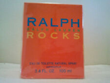 RALPH LAUREN ROCKS 100ML EDT SPRAY WOMEN'S PERFUME NEW SEALED BOX DISCONTINUED
