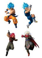 Bandai Dragon Ball Super VS Battle Figure 15 Gashapon Goku Dark King set 4 pcs