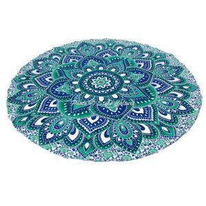 Bohemian Mandala Round Beach Tapestry Hippie Throw Yoga Mat Towel Indian Blanket