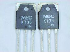 """2SK735 """"Original"""" NEC MOSFET  Transistor 2  pcs"""