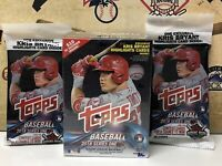2018 Topps Series 1 Baseball EXCLUSIVE Sealed Blaster Box + (2) Fat Packs!! 🔥⚾️