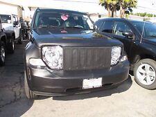Colgan Front End Mask Bra 2pc. Fits Jeep Liberty 2008-2012 W/O Front License Pla