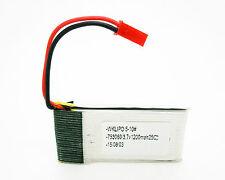 Bateria Lipo de 1200 MAH 25C 3.7V conector JST RC para Avion Helicoptero 4138