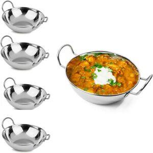 BALTI KARAHI KADAI CURRY FOOD INDIAN SERVING TABLE DISHES BOWL SETS 19CM