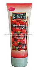 BODY FANTASIES Fragrance STRAWBERRY FANTASY 7 oz Moisturizing LOTION Shea Butter