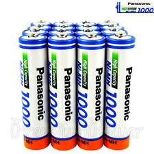 16 x Panasonic AAA batteries Ni-MH 1000 930 mAh Rechargeable High capacity HR03