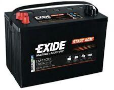 Batteria  EXIDE EM1100 START AGM SERVIZI 12V 100AH 925EN
