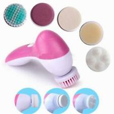 Brush Head 5 in 1 Cleanser Face Wash Facial Soft Cleansing Electric Massager