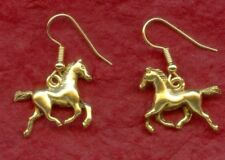 Horse Earrings Gold Plated dangle Jewellery pony New drop earings
