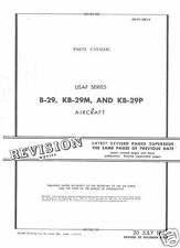 WW2 Boeing B-29 Superfortress parts service manual 1945 RARE HISTORIC ARCHIVE
